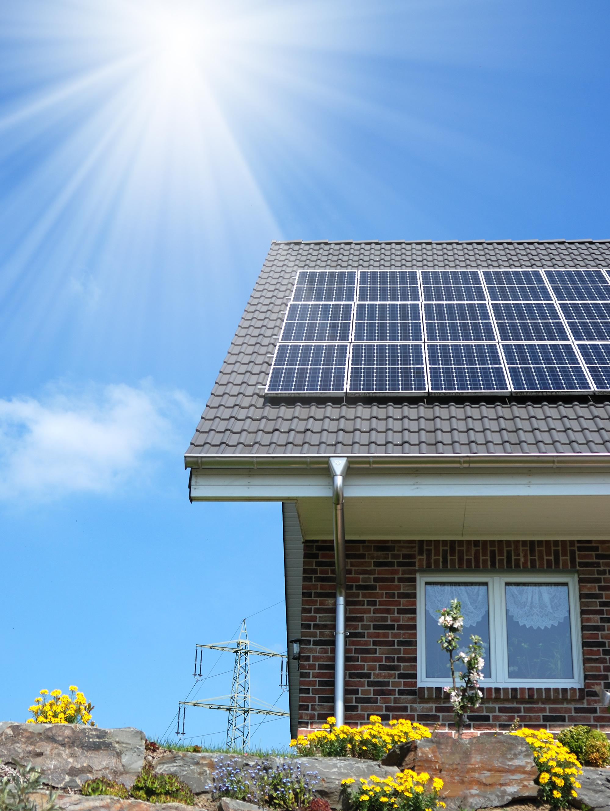 infographie 5 avantages et inconv nients du panneau solaire greenmatch. Black Bedroom Furniture Sets. Home Design Ideas